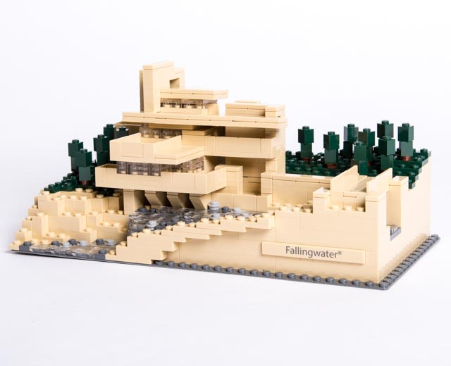 Pley rent lego sets - Lego falling waters ...