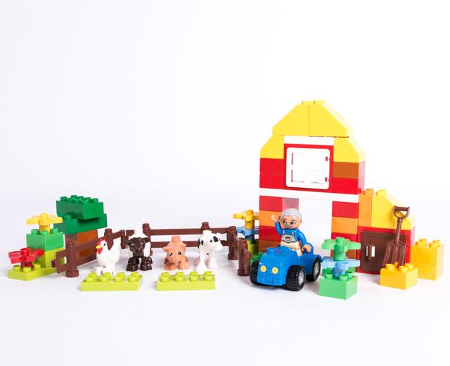 lego duplo farm instructions 6141
