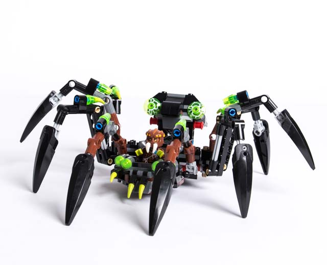 LEGO Legends Of Chima Sparratus' Spider Stalker 70130 ...