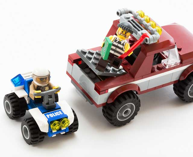 Police Pursuit By Lego