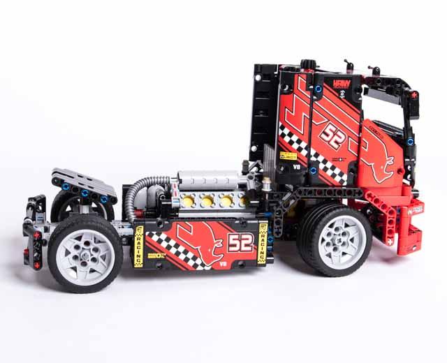 race truck by lego. Black Bedroom Furniture Sets. Home Design Ideas