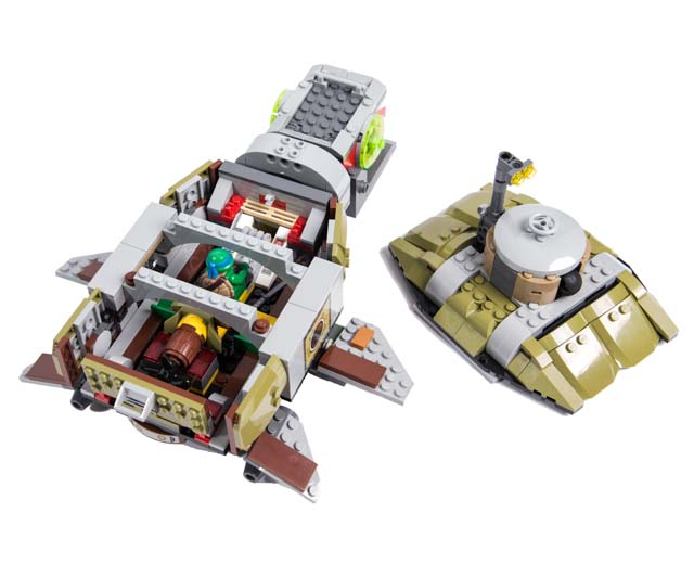 Lego Teenage Ninja Turtles Toys : Lego teenage mutant ninja turtles turtle sub undersea