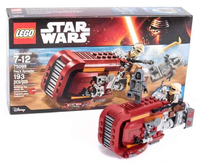 Reys Speeder By Lego