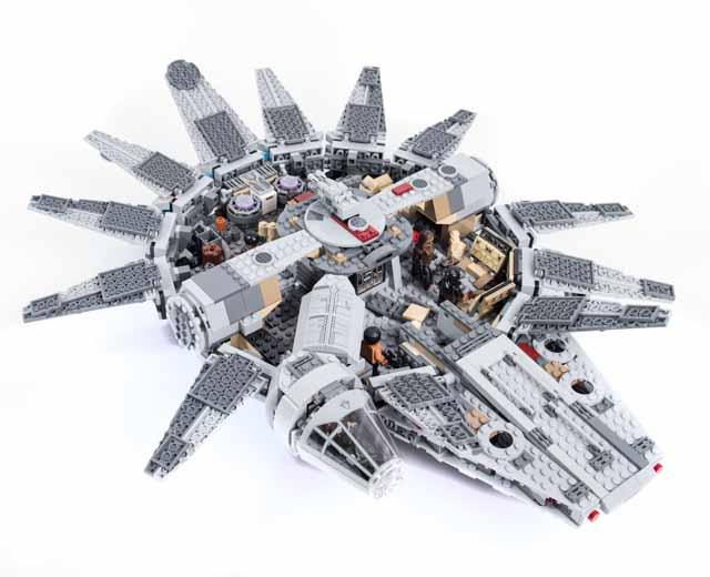 LEGO Bau- & Konstruktionsspielzeug LEGO® Star Wars Millennium Falcon 75105
