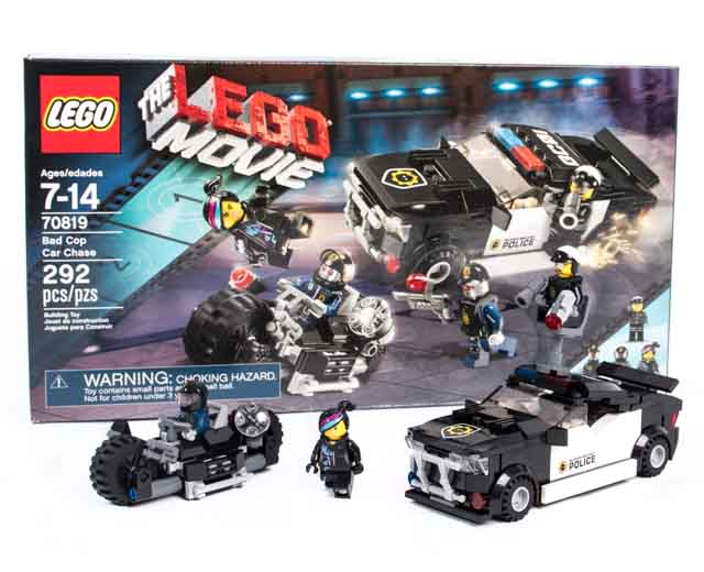 lego the lego movie bad cop car chase 70819 pley buy or rent the