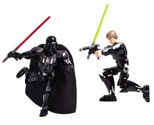 en US theme Star Wars Luke Skywalker vs Darth Vader