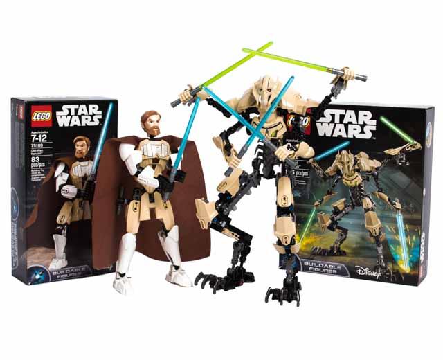 en US theme Star Wars Obi Wan Kenobi vs General Grievous