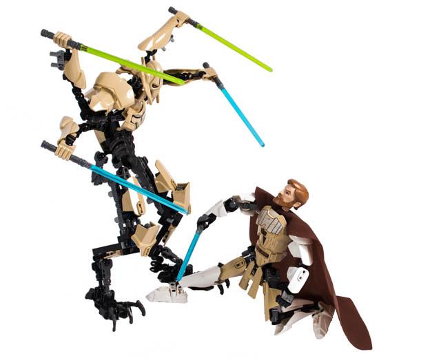 LEGO Star Wars ObiWan Kenobi vs General Grievous 1006  Pley