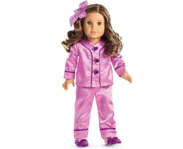20772fd4b Rhythmic Gymnastics Outfit and Rebecca s Satin Pajamas by American Girl