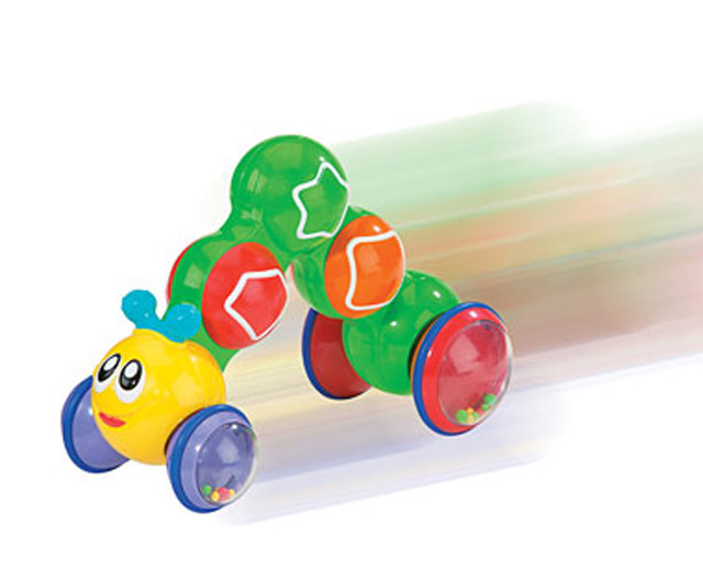 Preschool Toys Product : Int playthings preschool toys press to go caterpillar toys