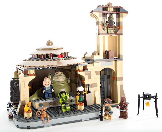Jabbas Palace By Lego