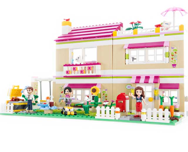 Olivias House By Lego