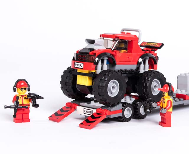 City Monster Truck Transporter