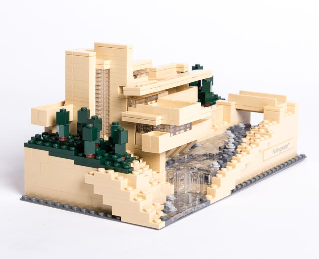 Lego architecture fallingwater 21005 pley buy or rent the coolest toys including lego - Falling waters lego ...