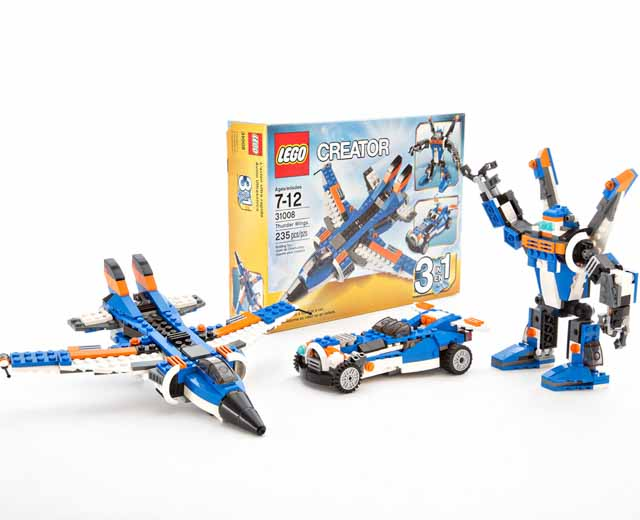 Image result for LEGO CREATOR THUNDER WINGS