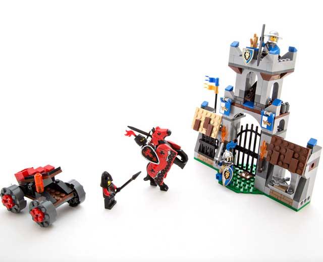 The Gatehouse Raid By Lego