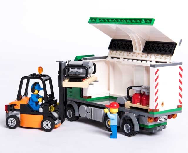 lego city cargo truck 60020 pley buy or rent the