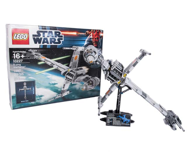 Lego Star Wars B Wing Star Fighter 10227 Pley Buy Or Rent The