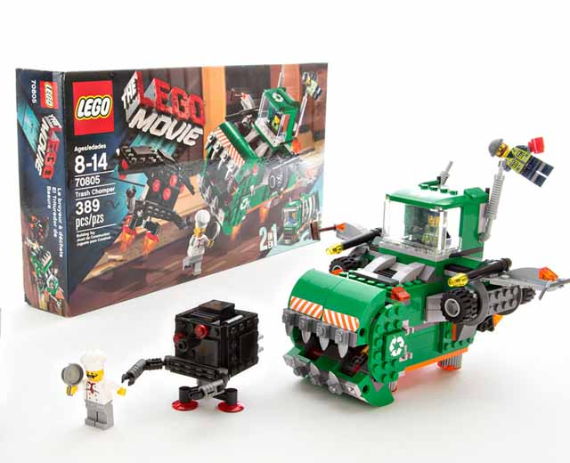 lego the lego movie trash chomper 70805 pley buy or rent the