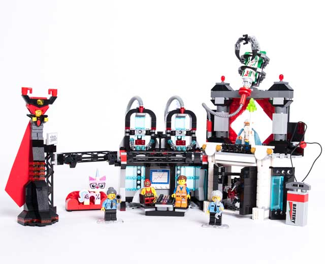 Lego Movie Toys : Lego the movie lord business evil lair pley