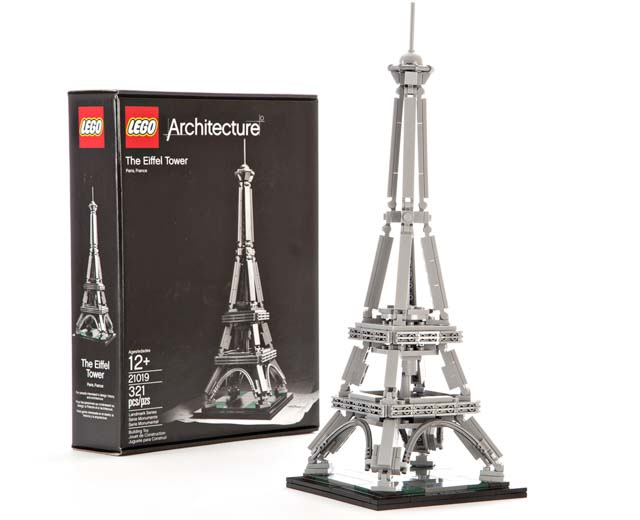 Lego Architecture The Eiffel Tower 21019 Pley Buy Or Rent The