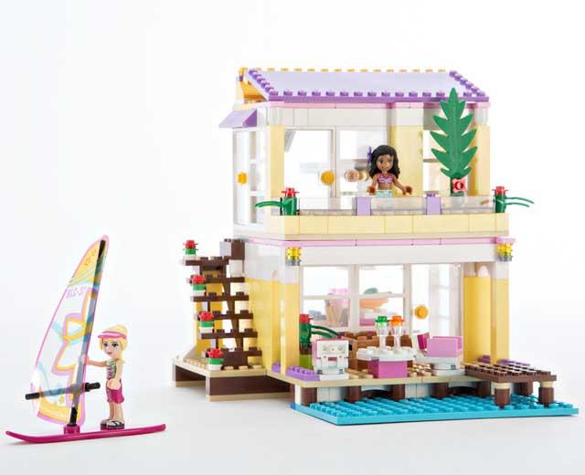 Stephanies Beach House By Lego