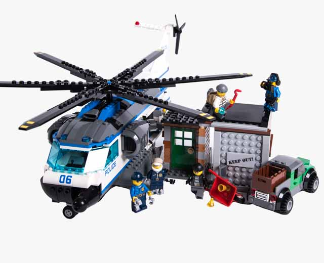 Lego City Helicopter Surveillance 60046 Pley Buy Or Rent The