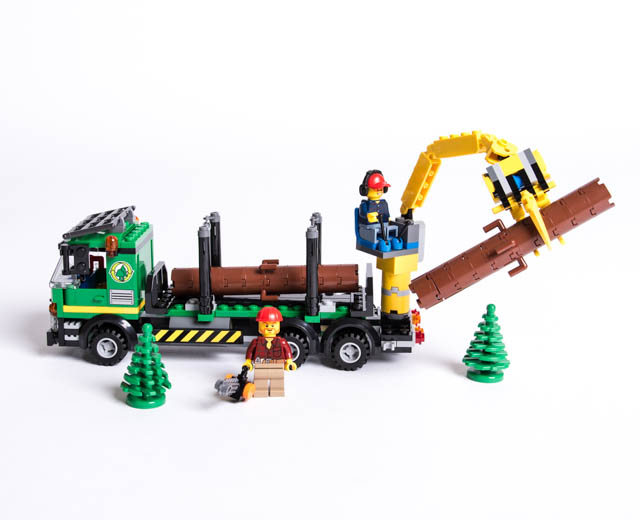 lego logging truck - photo #43