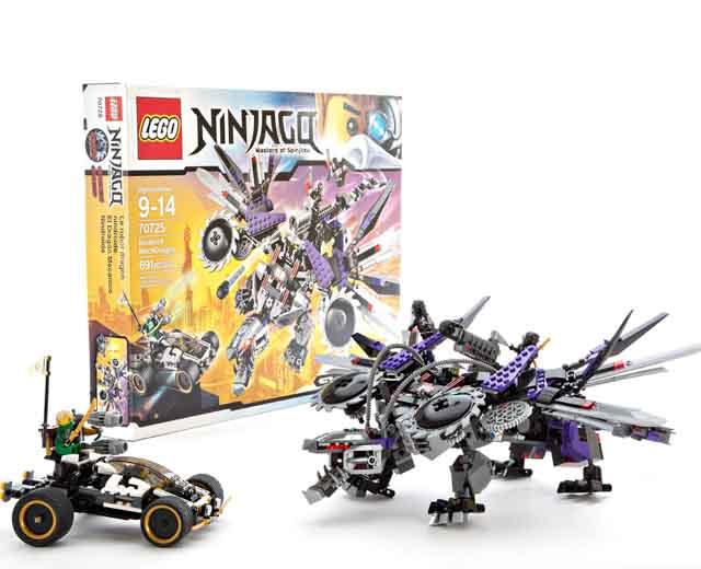 ninjago nindroid mech dragon