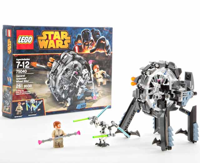 LEGO Star Wars General Grievous Wheel Bike 75040  Pley  Buy or