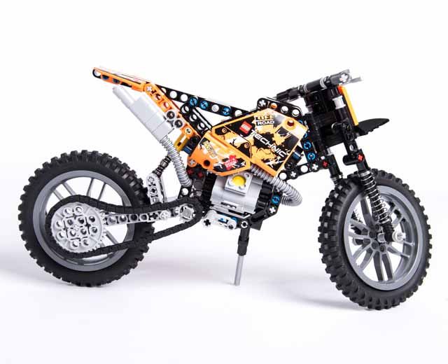 lego technic moto cross bike 42007 pley buy or rent the coolest toys including lego. Black Bedroom Furniture Sets. Home Design Ideas