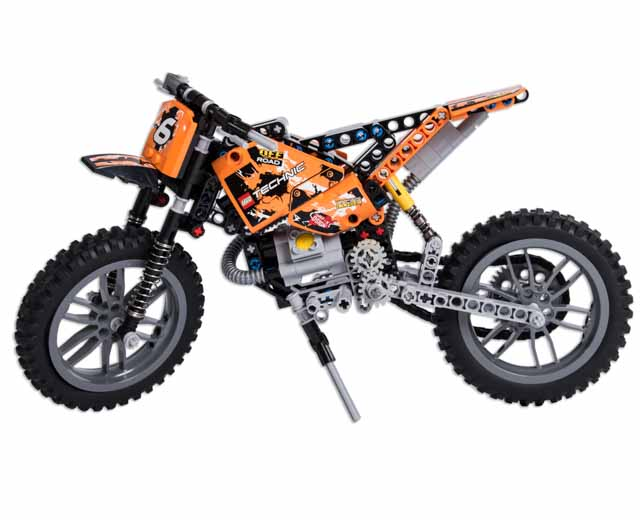 lego technic moto cross bike 42007 pley buy or rent the coolest toys including lego. Black Bedroom Furniture Sets. Home Design Ideas