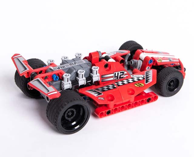 FASTEST LEGO PULL BACK CAR