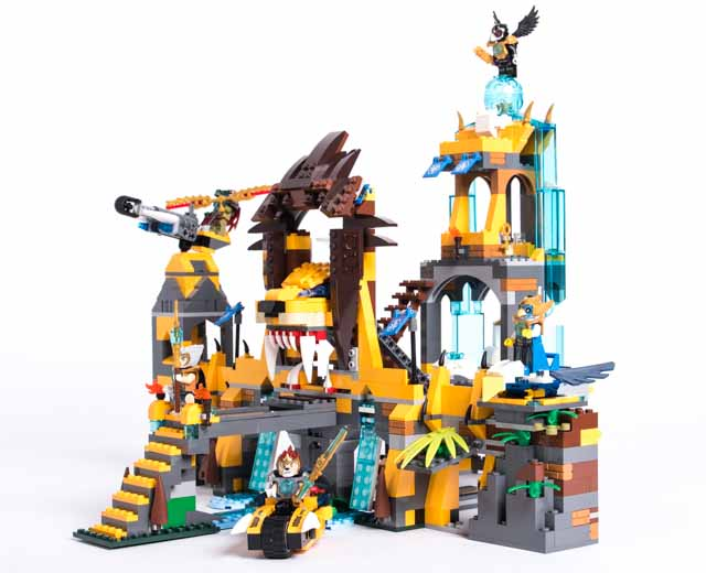 LEGO Legends of Chima The Lion CHI Temple (70010) | eBay