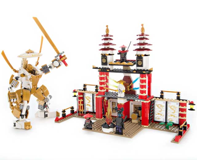 Lego Ninjago Temple Of Light 70505 Pley Buy Or Rent The Coolest