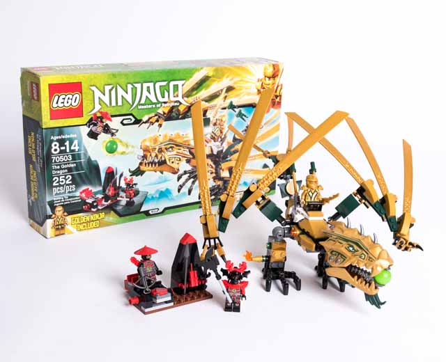 LEGO Ninjago The Golden Dragon 70503 - Pley | Buy or Rent ...