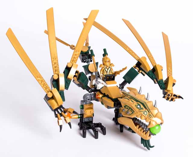ninjago the golden dragon