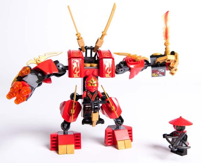 Lego Ninjago Toys : Lego ninjago kai s fire mech pley buy or rent