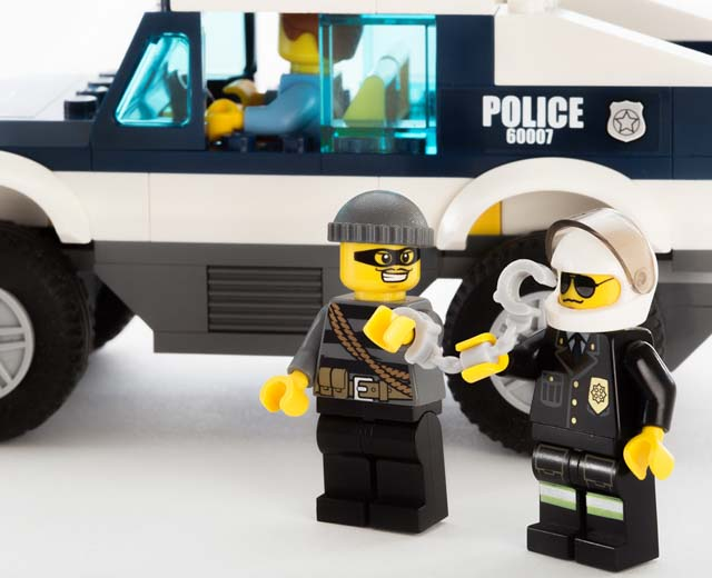 High Speed Chase By Lego